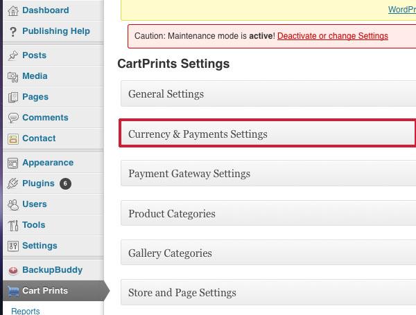 Cart Prints Dashboard 5